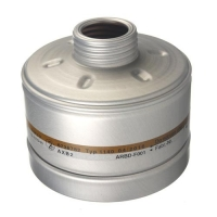 Drager RD40 Gasfilter AXB2
